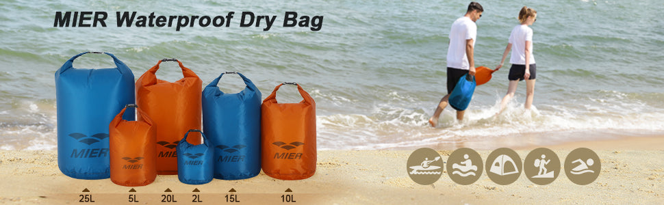 Waterproof Roll Top Dry Bag