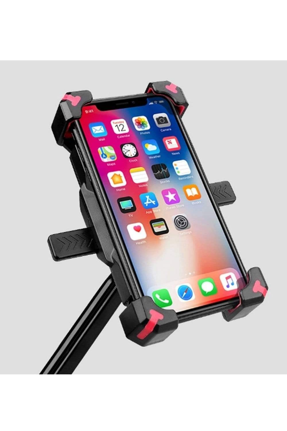 Anti-Shake Bike Phone Mount, 360 Rotation Universal Bicycle Motorcycle Phone Mount Phone Support MIER
