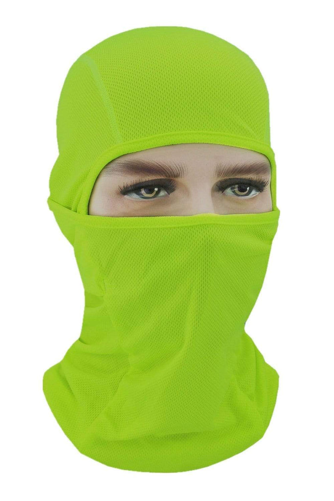 Balaclava Face Cover UV Protection Ski Mask Cycling Hat Green MIER