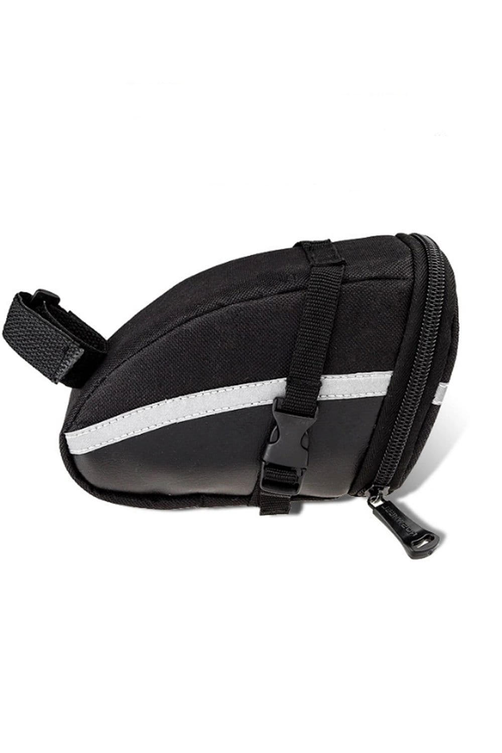 Bike Reflective Bag, Reflective Bicycle Rear Seat Storage Bag Bike Bag Balck MIER