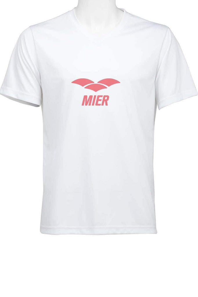 Custom MIER V-Neck T-Shirt SHORTS S MIER