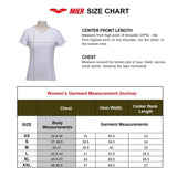 Custom MIER Women's V-Neck T-Shirt shirts&polo MIER