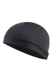 Cycling Cap Inner Liner Helmet Beanie Dome Hat Cycling Cap Black MIER