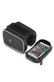 Cycling Frame Waterproof Handphone Multifunction Bag Bicycle Phone Bags Black MIER