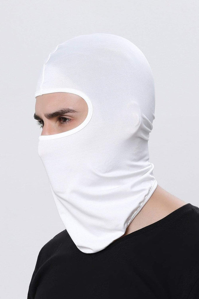 Full Face Balaclava Ultra-thin Cycling Protecting Mask Face Mask Beige MIER
