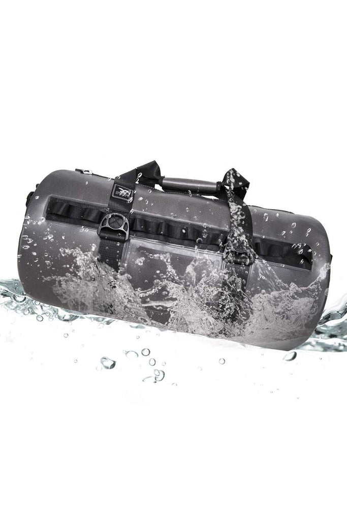 MIER 100% Waterproof Dry Duffel Bag with Watertight TIZIP Zipper, TPU Submersible Bag Waterproof Duffel 45L MIER