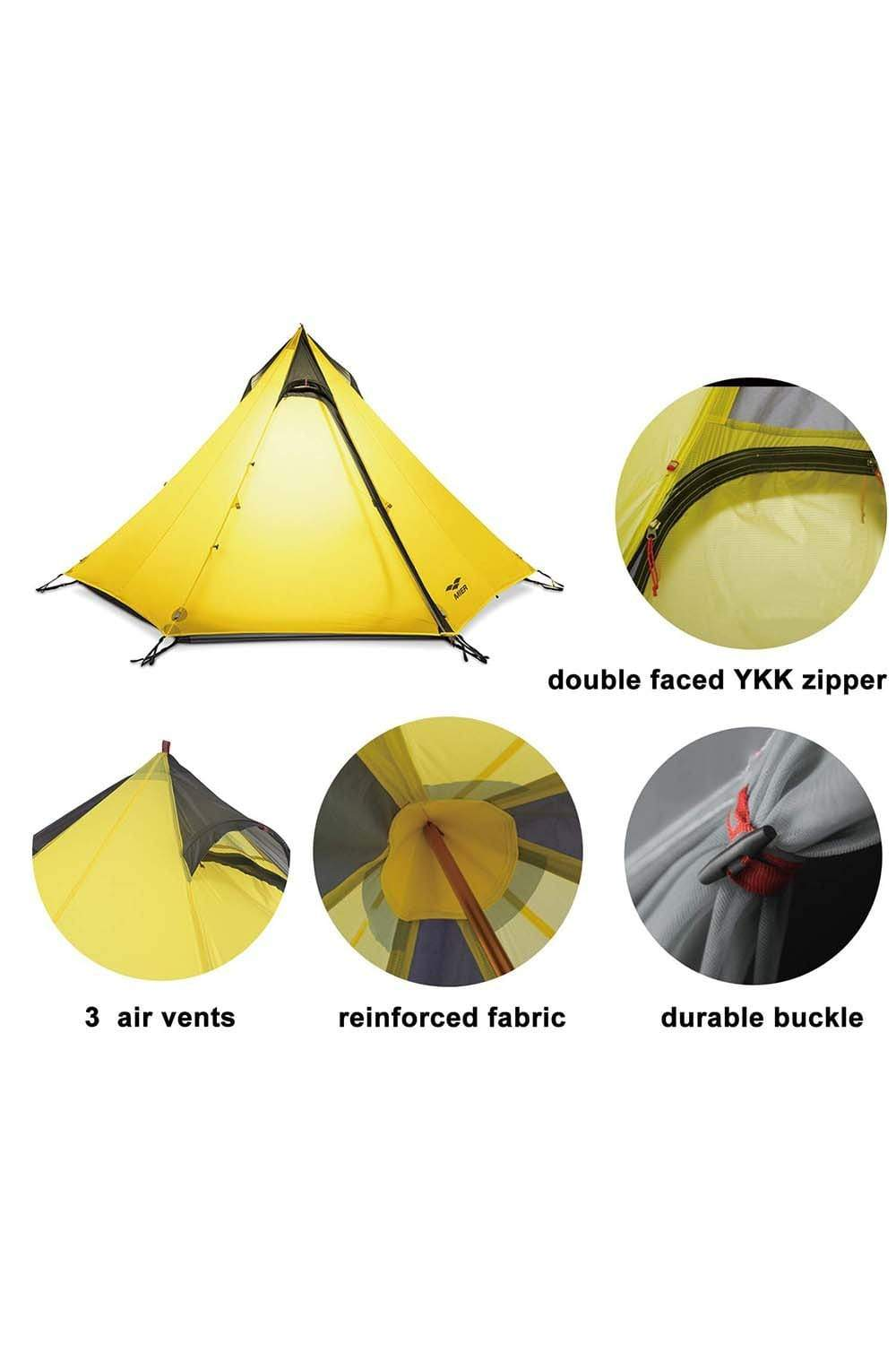 2-3 Person Ultralight Backpacking Tent