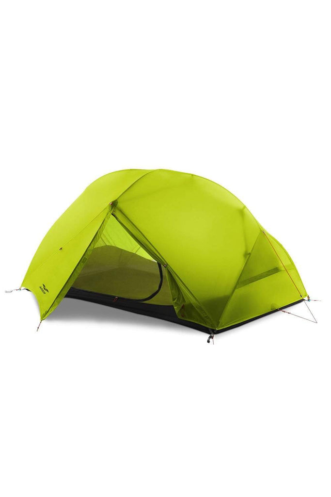 MIER 2-Person Camping Tent Easy Setup Lightweight Backpacking Tent with Footprint, 3 Season and 4 Season Dome Tent tent Yellowgreen / 3 SEASON MIER