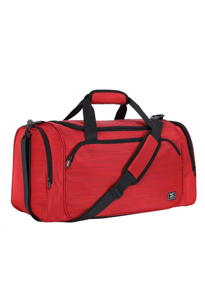 MIER 21 Inch Sports Gym Bag with Wet Pocket Travel Duffel Bag for Men and Women Duffel bag/ Gym bag Red MIER