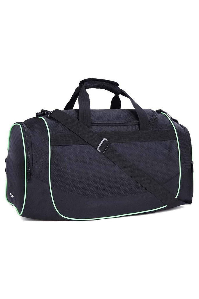 MIER 24 Inch Gym Bag Sports Duffel Bag with Shoe Compartment for Men, Black Duffel bag/ Gym bag Black MIER