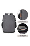 MIER 30L Roll-Top Waterproof Backpack Heavy Duty Kayaking Floating Dry Bag waterproof backpack Dimgray MIER