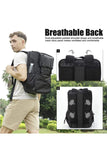 MIER Double Decker Insulated Backpack Cooler with Laptop Compartment Cooler Bag MIER