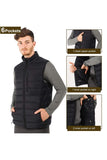 MIER Men's Insulated Vest Lightweight Winter Puffer Vest with YKK Zipper VEST MIER