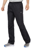 MIER Men's Sports Pants Warm Up Pants with Zipper Pockets for Workout, Gym, Running, Training Pants S / Black MIER