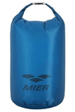 MIER Ultra Lightweight Dry Sack Waterproof Roll Top Dry Bag, Cordura Fabric, 2L / 5L / 10L/ 15L / 20L / 25L 2L / Blue MIER