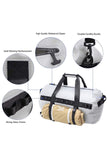 MIER Waterproof Dry Duffel Bag Airtight TPU Dry Bag for Motorcycle, Kayaking, Rafting, Skiing Waterproof Duffel MIER