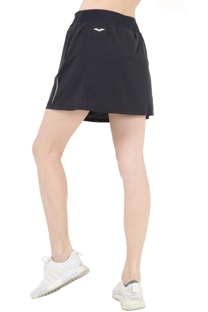 MIER Women's Athletic Skirt Sports Golf Tennis Running Skort with Elastic Waistband, 4 Pockets, Water Resistant SHORTS MIER