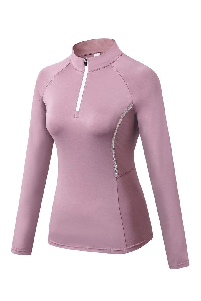 MIER Women's Fitness Yoga Training Zipper Jacket jackets MIER