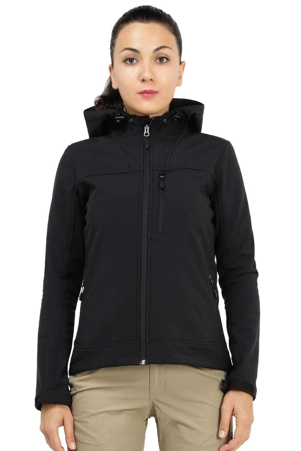 Women's Hooded Softshell Jacket