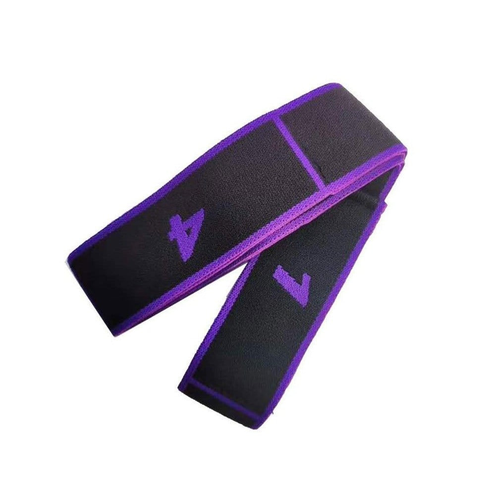 MIER Yoga Rope, Stretching Rope, Exercise Bands, Stretch Strap for Physical Therapy, Pilates, Dance and Gymnastics Yoga Purple MIER