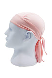 Moisture Wicking Cycling Head Wraps Cycling Cap Pink MIER