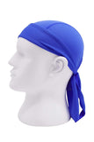 Moisture Wicking Cycling Head Wraps Cycling Cap Royal Blue MIER