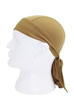 Moisture Wicking Cycling Head Wraps Cycling Cap Sand MIER