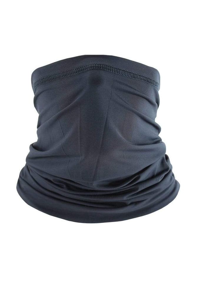 Neck Gaiter Face Cover UV Protection Cycling Mask Cycling Black MIER
