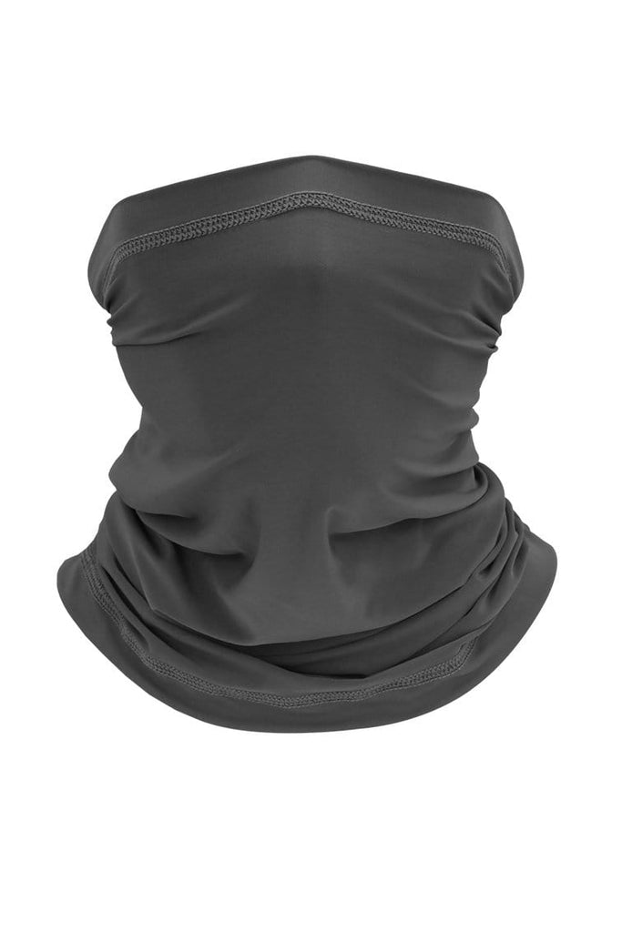 Neck Gaiter Face Cover UV Protection Cycling Mask Cycling Dark Gray MIER