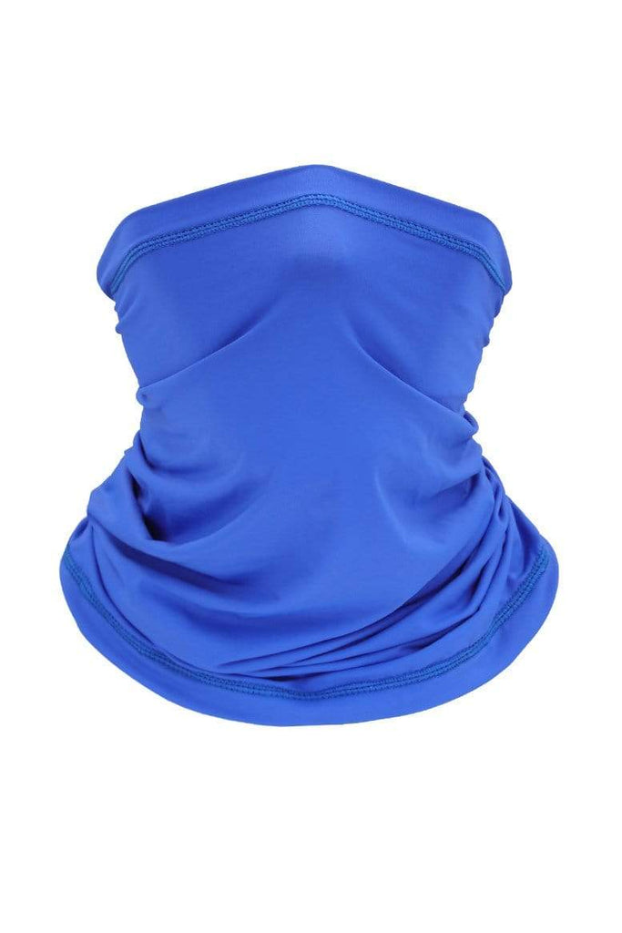 Neck Gaiter Face Cover UV Protection Cycling Mask Cycling Royal Blue MIER