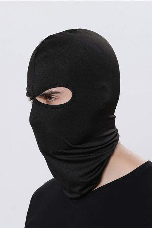 Sports Balaclava Cycling Face Mask with Eye Hollow Cycling Black MIER
