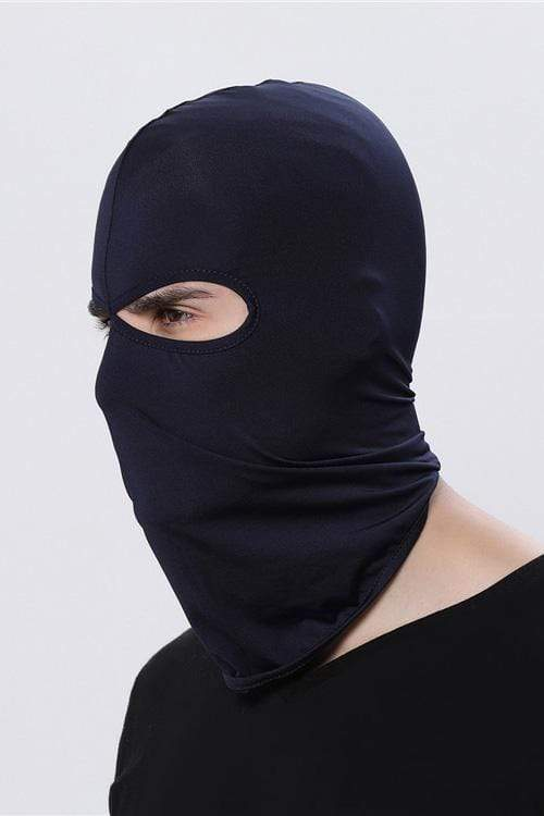 Sports Balaclava Cycling Face Mask with Eye Hollow Cycling Navy MIER