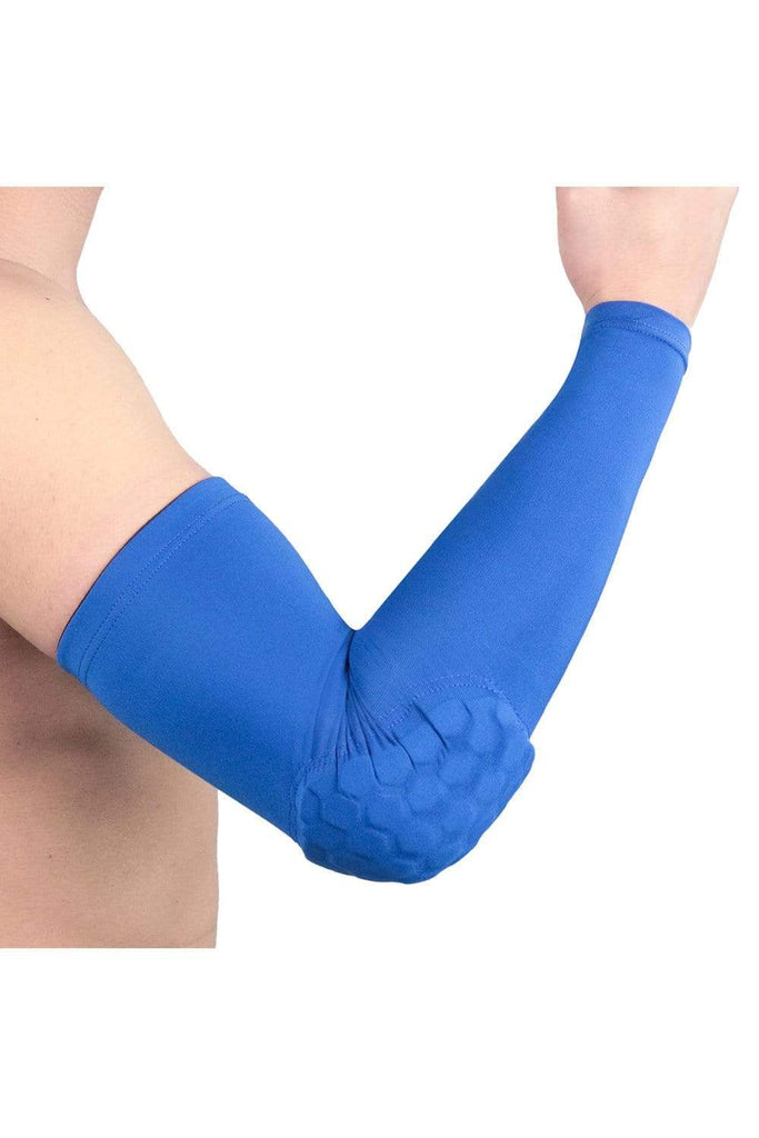 UV Protection Cooling Arm Sleeves, Long Sun Sleeves, Sunblock Cooler, Outdoor Sports Running Golf Fishing Cycling Cycling Blue / Medium MIER