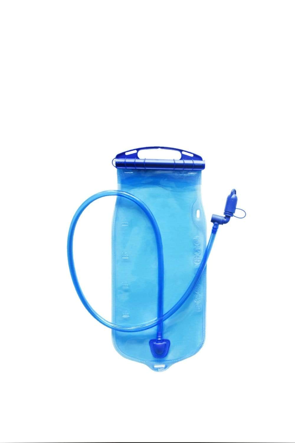 Water Carrier Water Container Bag, SGS Clear Plastic Water Bag for Camping Hiking Backpack Emergency, No-Leak Freezable Outdoor Foldable Water Bottle All Purpose, Cycling, Running, Travelling MIER