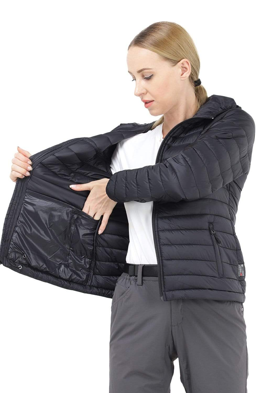 Women's Packable Puffer Jacket With Hood coats MIER