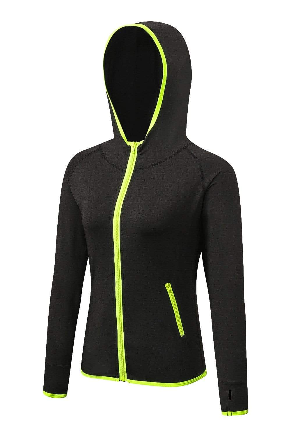 Women's Yoga Sports Zipper Hoodie Jacket