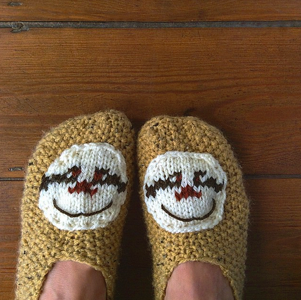 *OUT OF STOCK* Comfy and cute sloth slippers