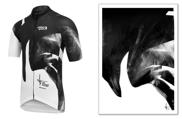 CROWDED - Limited Edition Cycling Jersey + Fine Art signed print