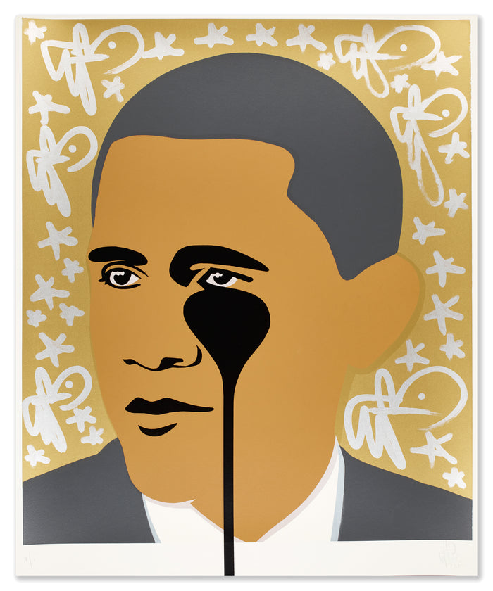 Obama | Gold Bunny Star