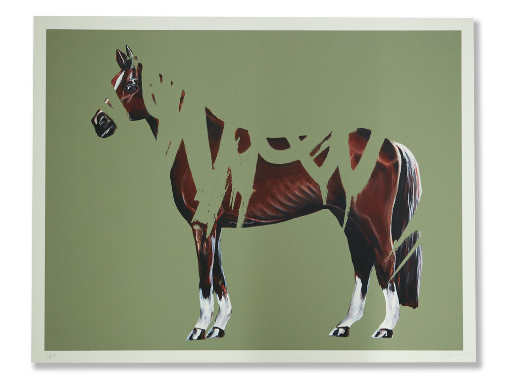The Klotter Horse 1 & 2 | Limited Edition Double Print set