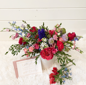 Large Floral Arrangement - Luxe & Whimsy