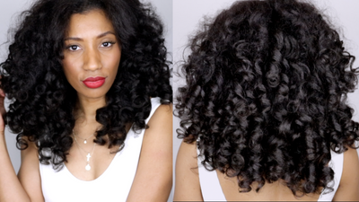 How to Roller Set Clip-in Hair Extensions