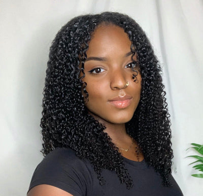 How to Blend Corkscrew Curl Clip-ins with Type 3 Natural Curls