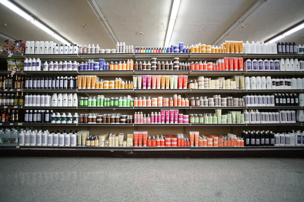 Hair product aisle