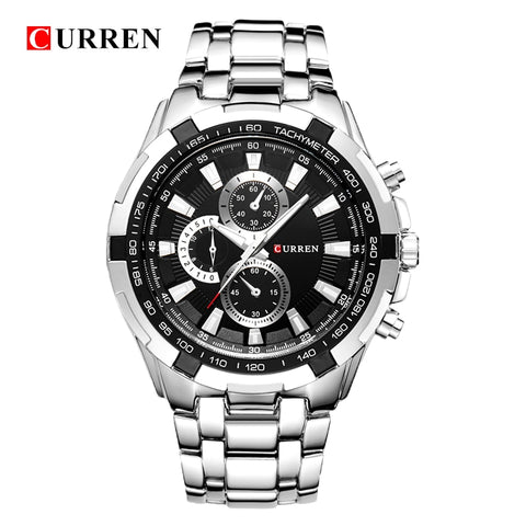 """CURREN"" Quartz Watch"
