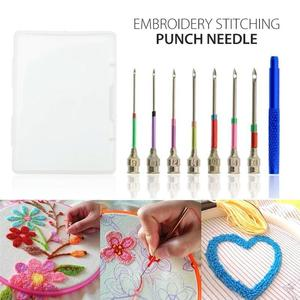 Embroidery Stitching Punch Needles (7 PCs) - GenieMania Fr