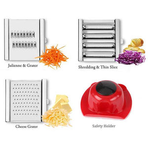 Multi-Purpose Vegetable Slicer Cuts - GenieMania Fr