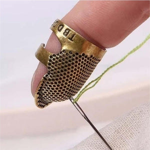 Hand Sewing Thimble Finger Protector - GenieMania Fr