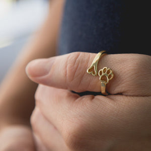 Always By My Heart Adjustable Ring - GenieMania Fr