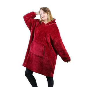 Ultra Soft & Cuddly Wearable Blankets - GenieMania Fr